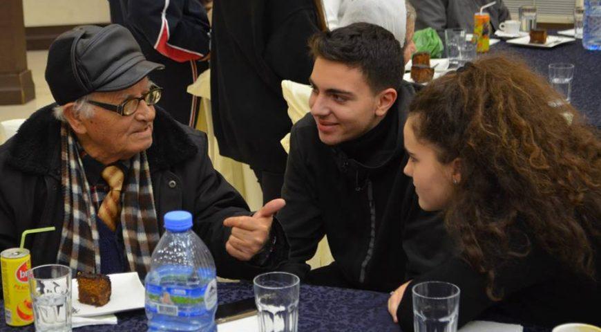 """Një ditë e veçantë me banorët e """"Shtëpisë së të moshuarve"""" Tiranë"""