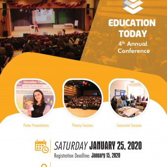 Education Today Call for Registration